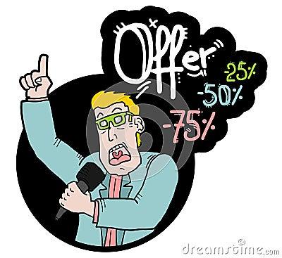 Presenter offer