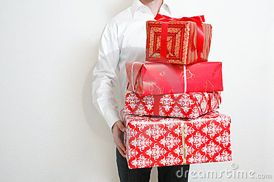 Presenting alot of gifts