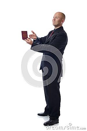 Presenting passport