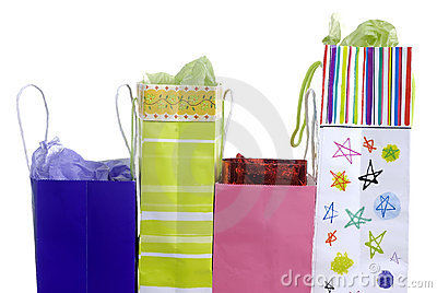 Presents in a bag