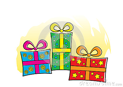 Presents with Bows