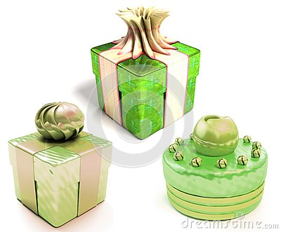 Presents boxes set