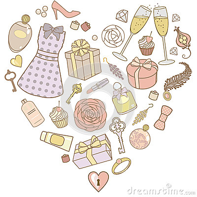 Presents-for-women-in-pastel-colors