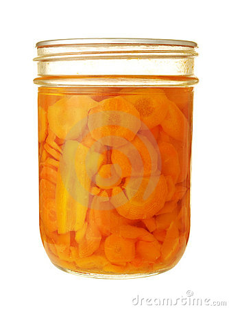 Preserved carrots