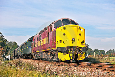 Preserved diesel trips Editorial Photography