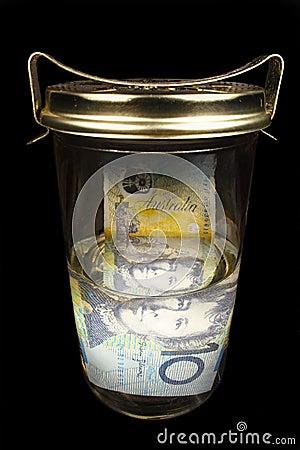 Preserving money