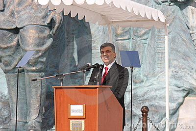 President Abdullah Gul Editorial Photography