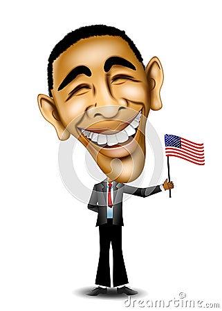 President Barack Obama Editorial Image Image 5508710