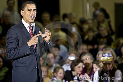 President Barack Obama Editorial Photography