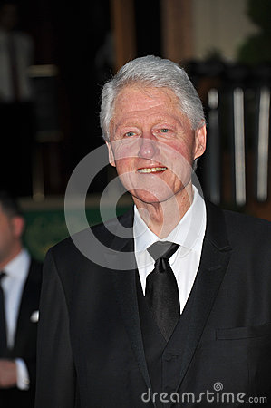 President Bill Clinton Editorial Image