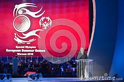 President Bronislaw Komorowski Editorial Image