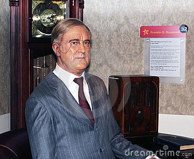President Franklin D Roosevelt. Redactionele Afbeelding