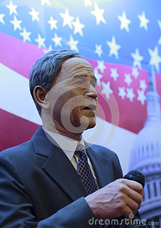 President george w. bush s wax figure Editorial Stock Photo