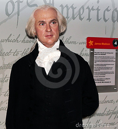 President James Madison Editorial Photography
