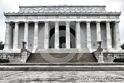 President Lincoln National Memorial Washington DC