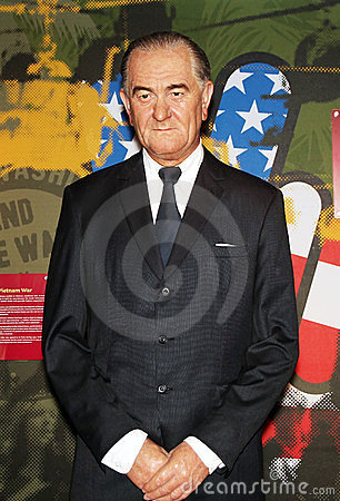 President Lyndon Johnson Editorial Photo