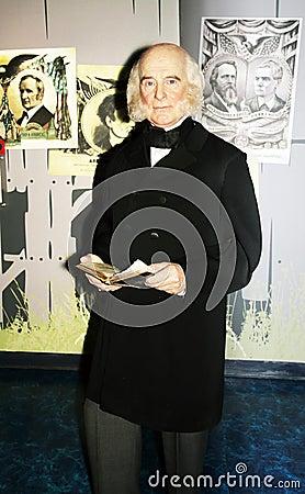 President Martin Van Buren Editorial Stock Photo