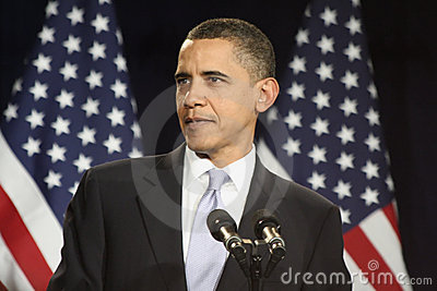 President Obama Editorial Stock Image