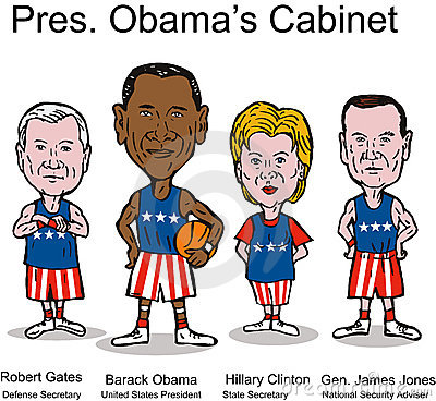 President Obama s Cabinet Editorial Stock Photo