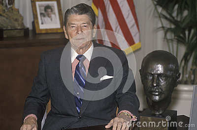 President Reagan Editorial Image