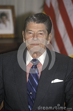 President Reagan Editorial Photography
