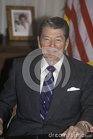 President Reagan Editorial Photography