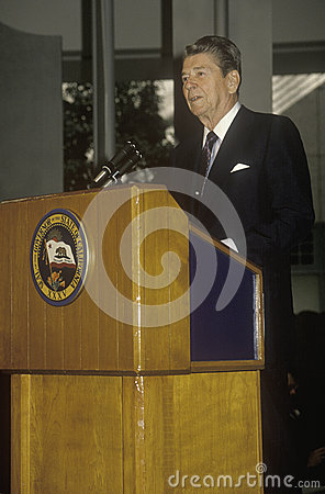 President Reagan Editorial Stock Image
