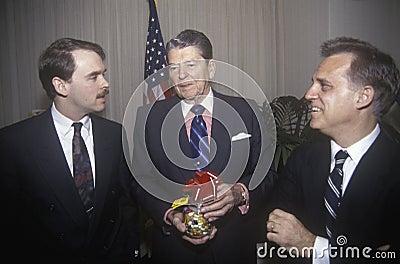 President Ronald Reagan Editorial Photo