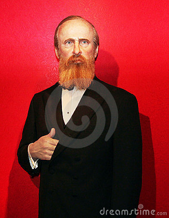 President Rutherford B. Hayes Editorial Photography