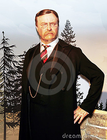 President Theodore Roosevelt Editorial Stock Photo