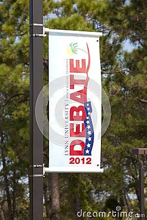 Presidental Debate Editorial Photography