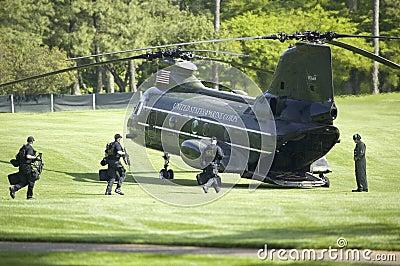 Presidentens säkerhetstjänst Redaktionell Arkivbild