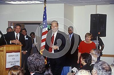 Presidential candidate Bill Bradley Editorial Photo