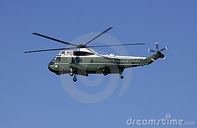 Presidential Helicopter Editorial Stock Image