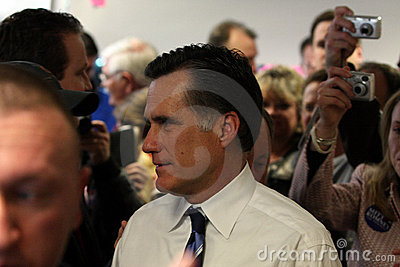 Presidential hopeful Mitt Romney Editorial Stock Photo