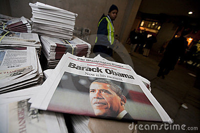 The Presidential Inauguration Of Barack Obama Editorial Photo