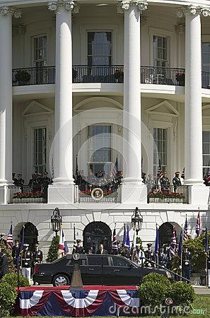 Presidential Limousine Editorial Photo