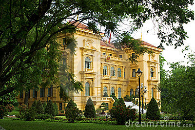 Presidential Palace, Hanoi Editorial Photography