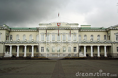 Presidential Palace in Vilnius (Lithuania)