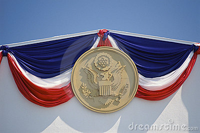 Presidential seal Editorial Stock Image