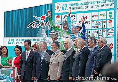 Presidential Tour of Turkey Editorial Stock Image