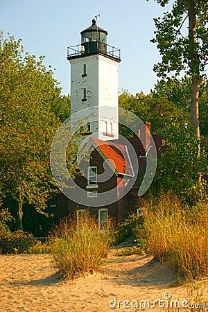 Presque Insel-Leuchtturm