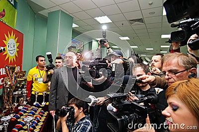 Press Editorial Stock Photo