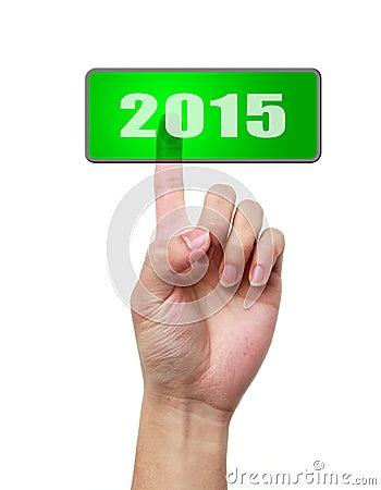 Press button of 2015
