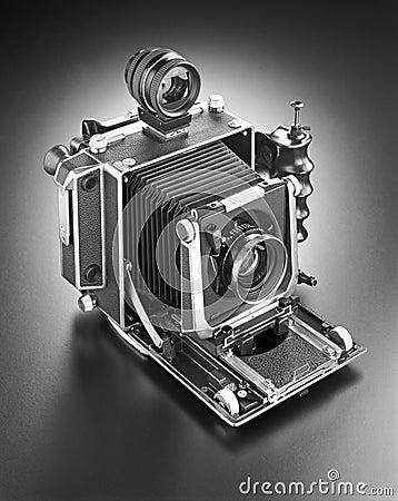 Press camera 4 x 5