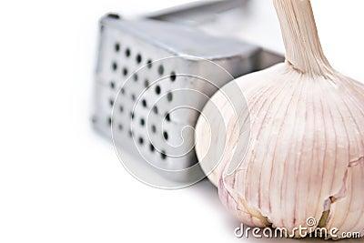 Press garlic and garlic