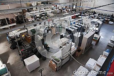 Press printing (printshop) - Offset