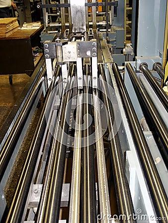 Press sheet cutter