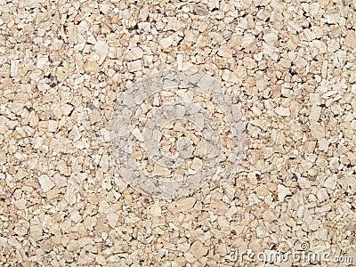 Pressed cork background