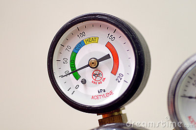 Pressure Gauge(Bourdon Gauge)